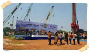 Sewa Tenda, Panggung, Backdrop Acara Ground Breaking Ceremony Living World Grand Wisata Bekasi